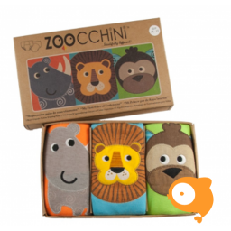 Zoocchini - Zindelijkheids-/Trainingsbroekjes Safari - Pakketje van 3 JONGENS