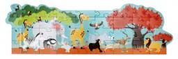Scratch - vloerpuzzel safari