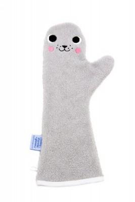 Baby shower glove - zeehond