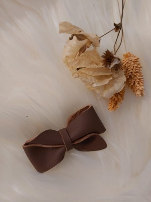 Atelier Ovive - hairpin bow vive - Pecan