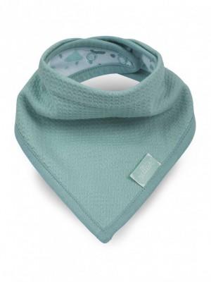 Jollein - slab bandana Tiny waffle soft green