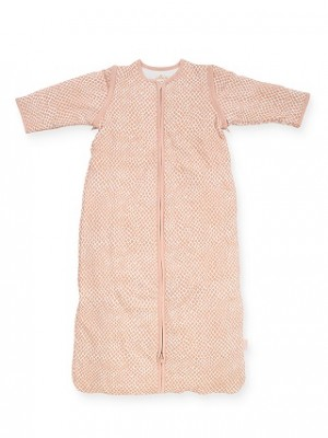 Jollein - slaapzak met afritsbare mouw - snake pale pink - 90 cm
