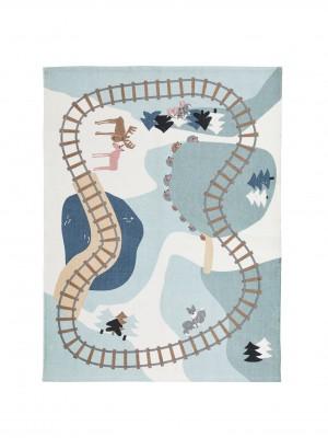 Kid's Concept - tapijt vloerkleed Edvin Woodland