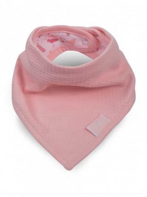 Jollein - slab bandana Tiny waffle soft pink