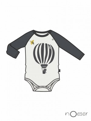 nOeser - Fly away romper ragas airballoon white