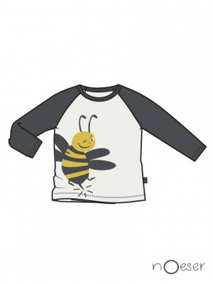 nOeser - Fly away raf raglan billy yellow/white