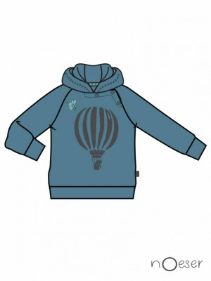 nOeser - Fly away holly sweater air balloon petrol