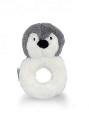 Jollein - rammelaar pinguïn storm grey