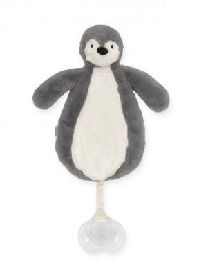 Jollein - speendoekje pinguïn storm grey