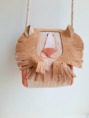 Atelier Ovive - Lion bag nude/blush