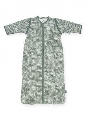 Jollein - slaapzak met afritsbare mouw - snake ash green - 90cm