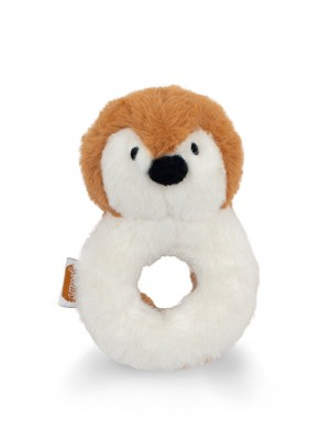 Jollein - rammelaar pinguïn caramel