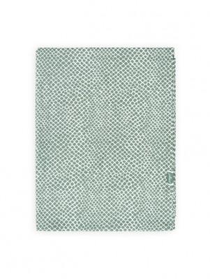 Jollein - Laken 120x150 cm Snake Ash green