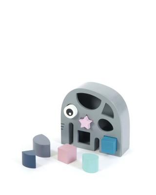 Smallstuf - sorteren met vormen olifant