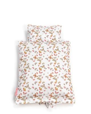 Smallstuff - bedtextiel voor poppen vlinders multi
