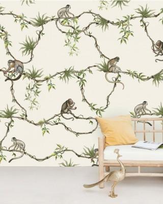 Creative Lab Amsterdam - Hanging garden Behang Mural