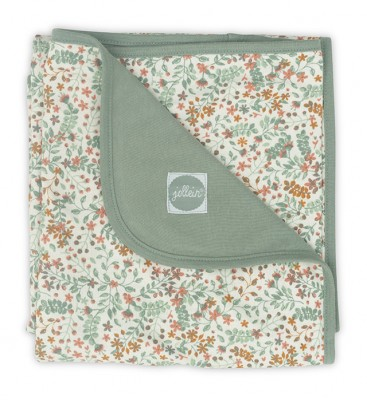 Jollein - deken jersey bloom - 75 x 100 cm