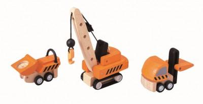 PlanToys - Constructie voertuigen