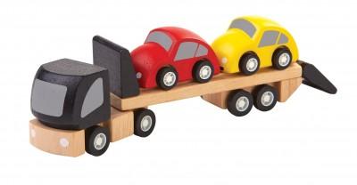 PlanToys - Wagen transporter