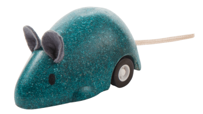 PlanToys - Muis Blue