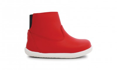 Bobux - Step up paddington red - waterproof