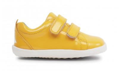 Bobux - Step up grass court yellow - waterproof