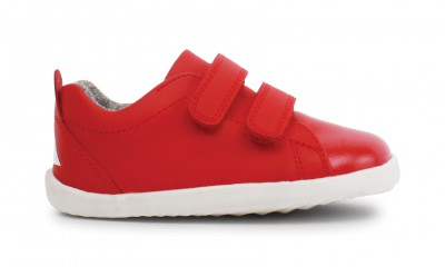 Bobux - Step up grass court red - waterproof
