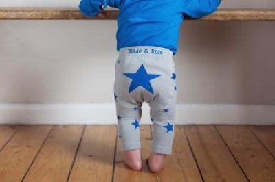 Blade&Rose - Legging blauwe sterren