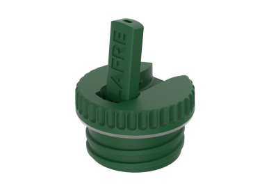 Blafre - functional bottle top dark green