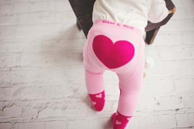 Blade&Rose - Pink heart tights