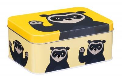 Blafre  - rectangular box brillebjorn yellow