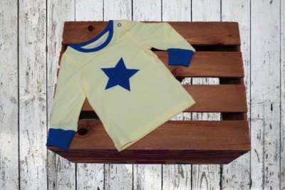 Blade&Rose - Longsleeve blauwe ster