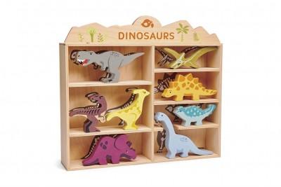 Tender Leaf Toys - Set houten dinos