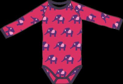 Mini Cirkus - Elephant bright rose body