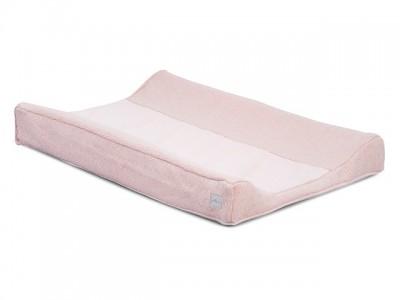 Jollein - waskussenhoes 50x70cm Soft knit creamy peach