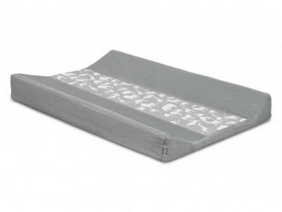 Jollein - waskussenhoes 50x70cm  Safari stone grey