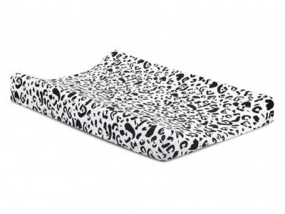 Jollein - waskussenhoes 50x70cm Leopard jersey