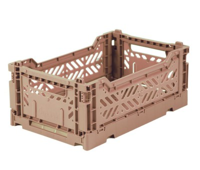 Eef Lillemor - Folding Crate Warm Taupe - midi