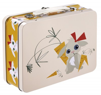 Blafre - tin suitcase rabbit
