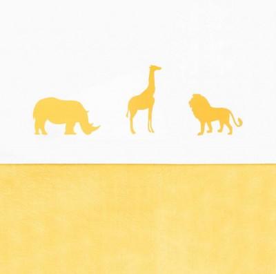 Jollein - laken Safari Safari ocher 75x100cm
