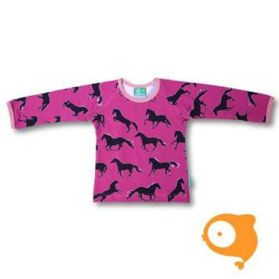 Naperonuttu - Horses LS shirt