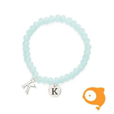 Mie Toe - Dochter armbandje met initiaal K