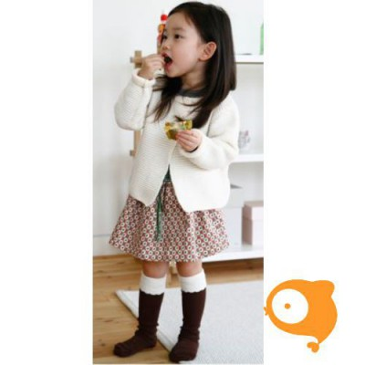 Mini Dressing - Kniekousen cupcake brown
