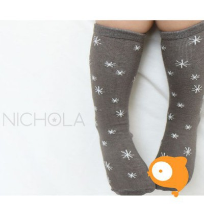 Kids Clara - Nichola Nothern Sky Knee Socks Gray