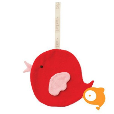Peppa - Knuffeldoekje comfort buddie bird organic/bio