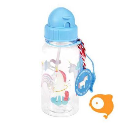 Rexinter - Drinkfles met rietje magical unicorn