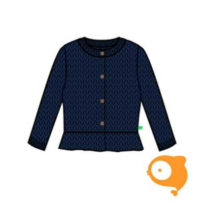 Fred's World - Knit cardigan navy
