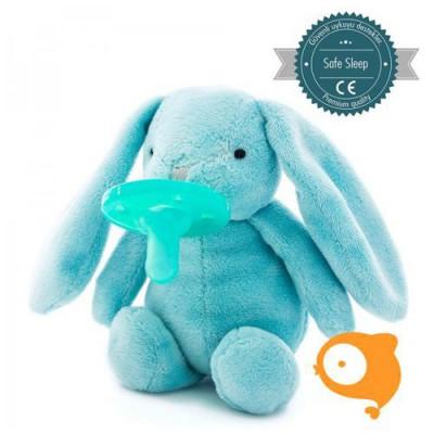 MiniKOiOi - Speenknuffel konijn blauw