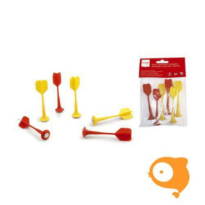 Scratch - Set darts rood/geel