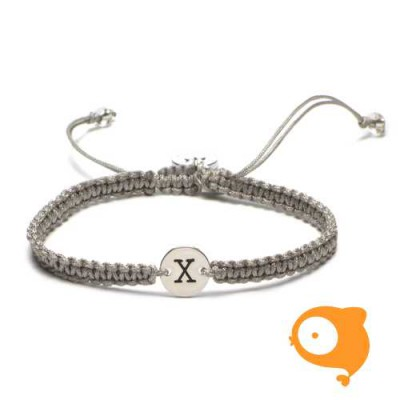 Proud Mama - Armband met initiaal X